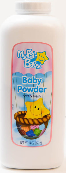 Baby Powder by My Fair Baby 14 Oz