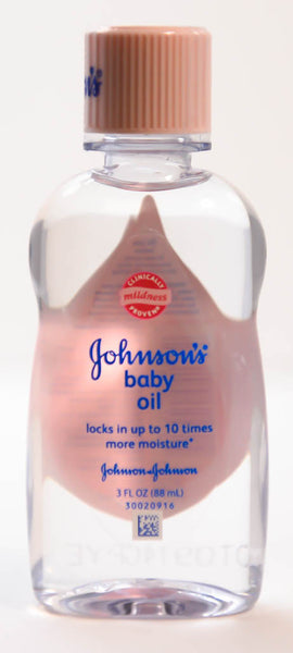 Johnson's Baby Oil, Travel Size 3 OZ
