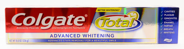 Colgate Total Advanced Whitening  8.0 OZ