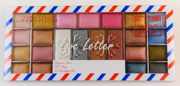 Love Letter 23 Colour Eyeshadow by Max Makeup Cherimoya
