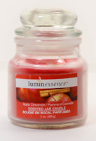 Luminessence, Scented Jar Candle, Apple Cinnamon