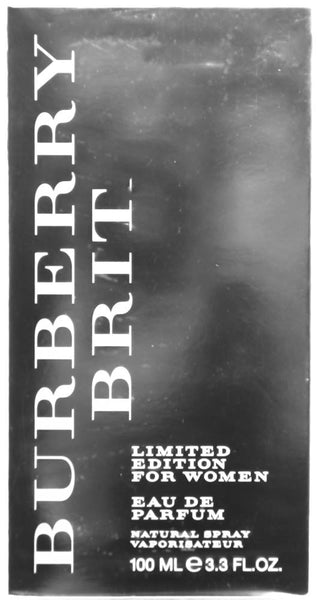 Burberry Brit Limited Edition Parfum Spray for Women, 3.3 oz.