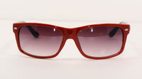 Red Rectangle Fashion Men's Sunglasses