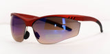 Red Frame Sports Sunglasses for Men
