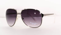 Metal Aviator Square Sunglasses