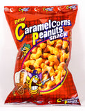CROWN Caramel Corns Peanuts Snack (1 count)