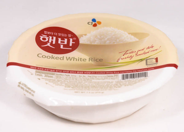 CJ Cooked White Rice (1 Count)