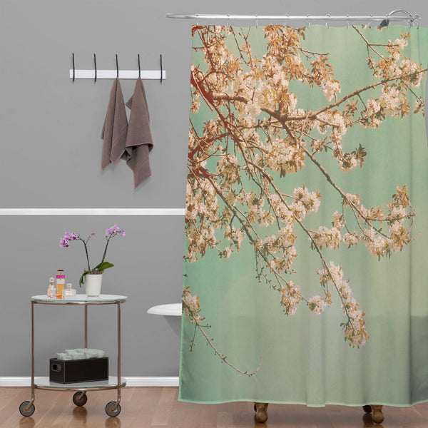 Shower Curtain: Cherry Blossoms