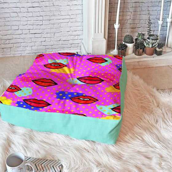 Floor Pillow: Mon Cheri