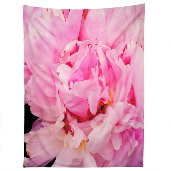 Wall Tapestry: Pink Peony