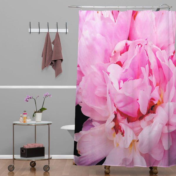 Shower Curtain: Pink Peony