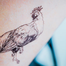 Load image into Gallery viewer, Phoenix Fowl Tattoo - LAZY DUO TATTOO