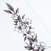 Load image into Gallery viewer, Narcissus Flower Band Tattoo - LAZY DUO TATTOO
