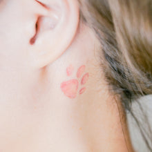 Load image into Gallery viewer, Kitten Cats Pinky Paws Tattoo - LAZY DUO TATTOO