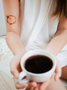 Coffee Therapy Tattoo - LAZY DUO TATTOO