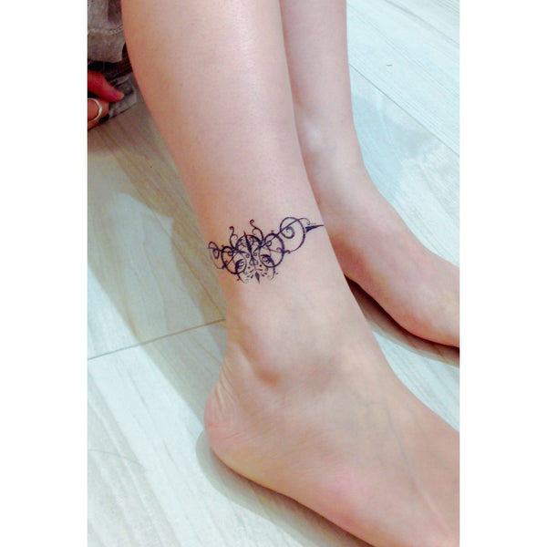 Graphic Bracelet wrist Tattoo LAZY DUO Tattoo Sticker 香港紋身貼紙 刺青圖案 紋身師 印刷訂做客製 Custom Temporary Tattoo artist HK tattoo shop Hong Kong 迷你刺青 韓式刺青紋身 small tattoo design Minimal Tattoo little tattoo idea sketchy tattoo floral tattoo ankle wrist tattoo back tattoo Taiwan
