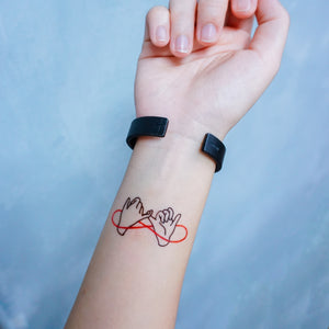 Pinky Promise・BFF & Friendship Tattoo - LAZY DUO TATTOO