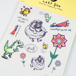 LAZY DUO Superman Temporary Tattoo Sticker Custom HK水彩刺青紋身貼紙設計少量印刷訂做客製Hong Kong artist tattoo shop 迷你韓式刺青紋身師 Floral Dreamcatcher Tattoo Realistic Artistic Tattoo Sticker Color Metallic Tattoo預約紋身貼紙專業優質色彩印刷訂製作DIY Waiman Tattoo Artist 香港原創手繪刺青紋身貼紙 LAZY DUO Premium High Quality Temporary Tattoo Stickers Professional Prin