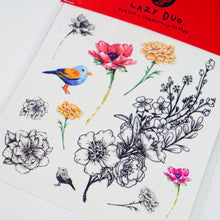 Load image into Gallery viewer, 香港原創手繪刺青紋身貼紙 LAZY DUO HK Premium Temporary Tattoo Stickers Professional Printing Shop Hong Kong Customise Tattoo Custom Order Small Amount 自訂客製少量印刷大量批發特快專業優質彩色金屬色廣告宣傳禮品 Gift Promotion Advertising Event 安全防水防敏無痛紋身師紋身店 High Quality Tattoo Service Safe Non-Toxic Ink Long Lasting Waterproof Look Real Realistic Artistic Tat