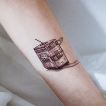 Load image into Gallery viewer, Old Hong Kong Transportations Tattoos - LAZY DUO TATTOO