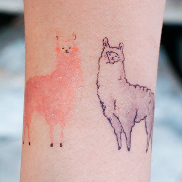 Fox Tattoo Rabbit Tattoo Bunny Tattoo Cow Tattoo Puppy Tattoo cat Tattoo Alpaca Tattoo Bear Tattoo Monkey Tattoo Animal Tattoo Ideas Kids Drawing Tattoo LAZY DUO Temporary Tattoos Watercolor Animal Tattoos 森林動物插畫紋身貼紙 可愛兒童塗鴉刺青 貓狗羊駝牛豬猴兔熊狐狸