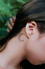 Load image into Gallery viewer, Lettering & Boho White Gold Metallic Tattoo Set - LAZY DUO TATTOO
