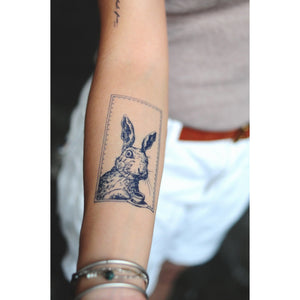 Afternoon Tea Rabbit Tattoo - LAZY DUO TATTOO