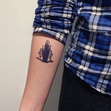 Load image into Gallery viewer, Hamsa Hand Palm Tattoo - LAZY DUO TATTOO
