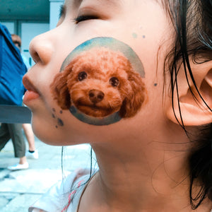 Poodle Doggie Tattoos - LAZY DUO TATTOO
