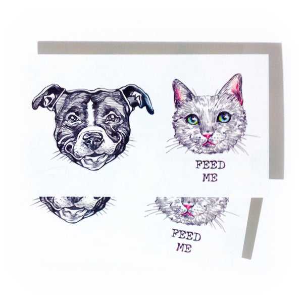 White Cat Cute Feed ME Pit Bull Tattoo Stickers Couple Tattoo Lover Matching Tattoo Minimal Tattoo LAZY DUO Tattoo Sticker 香港紋身貼紙 刺青圖案 紋身師 印刷訂做客製 Custom Temporary Tattoo artist HK tattoo shop Hong Kong 迷你刺青 韓式刺青紋身 small tattoo design Minimal Tattoo little tattoo idea sketchy tattoo floral tattoo ankle wrist tattoo back tattoo Taiwan