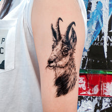 Load image into Gallery viewer, Ram・Goat Tattoo - LAZY DUO TATTOO
