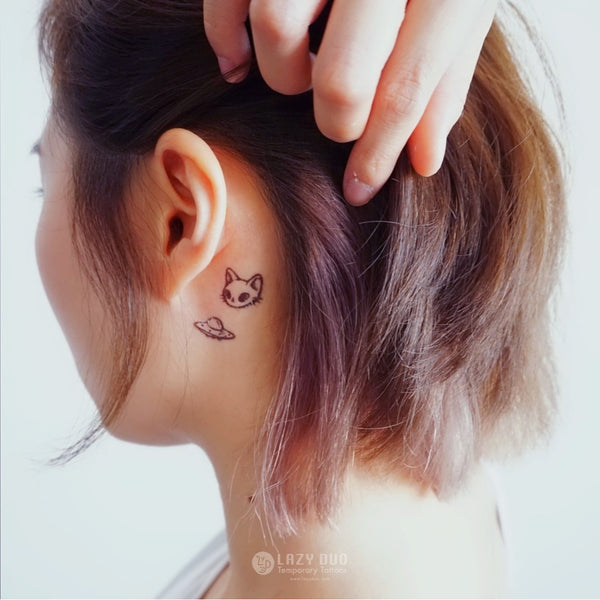 pug tattoo donut tattoo galaxy Tattoos stars tattoo Cute Tattoo Fun Delicate Watercolor LAZY DUO Tattoo Sticker 香港紋身貼紙 刺青圖案 紋身師 印刷訂做客製 Custom Temporary Tattoo artist HK tattoo shop Hong Kong 迷你刺青 韓式刺青紋身 small tattoo design Minimal Tattoo little tattoo idea sketchy tattoo floral tattoo ankle wrist tattoo back tattoo Taiwan