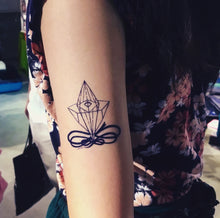 Load image into Gallery viewer, Minimal Diamond Tattoo - LAZY DUO TATTOO