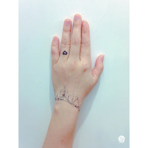Crystal Bracelet Tattoo - LAZY DUO TATTOO