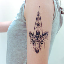 Load image into Gallery viewer, Tribal Bohemian Wing Tattoo - LAZY DUO TATTOO