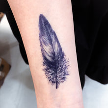 Load image into Gallery viewer, Feathers Tattoo - LAZY DUO TATTOO