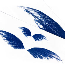 Load image into Gallery viewer, Blue Feather & Wings Tattoo - LAZY DUO TATTOO
