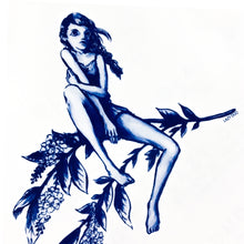 Load image into Gallery viewer, Nature Girl Tattoo - LAZY DUO TATTOO