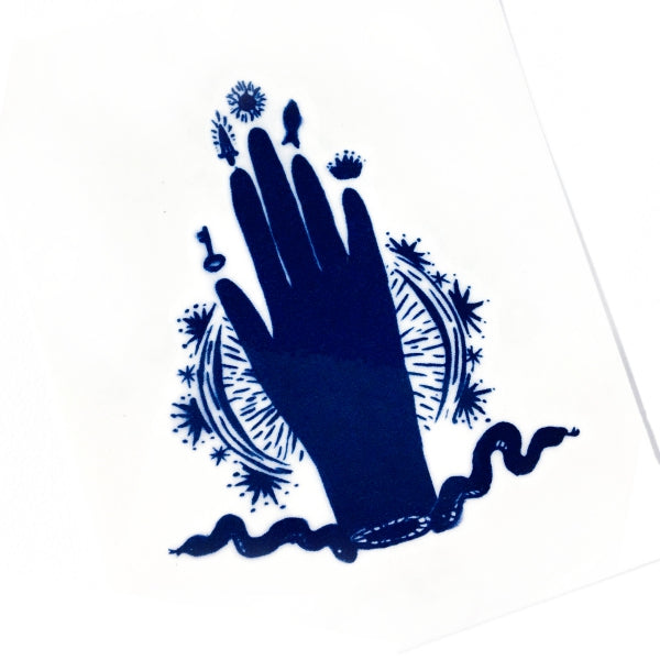 Hamsa Hand Palm Tattoo - LAZY DUO TATTOO