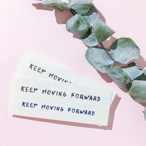 Motivational Words.Keep Moving Forward Tattoo - LAZY DUO TATTOO