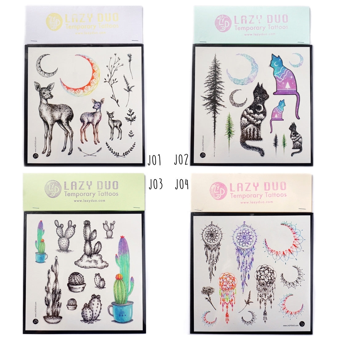 Tattoo Sets・Pick Any 2 - LAZY DUO TATTOO