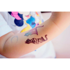 J02 Wild Cat Tattoos Set - LAZY DUO TATTOO