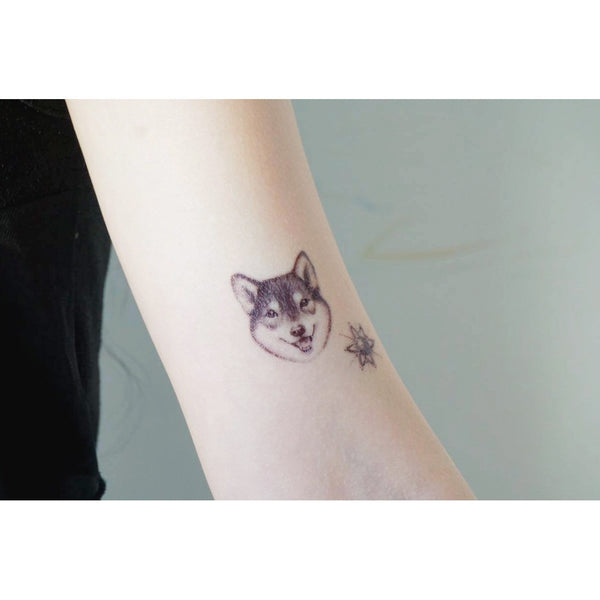 Shiba Inu Tattoo Dog Tattoo Cat Tattoo Minimal Tattoo Lettering Tattoo Words Tattoo Quote Tattoo Nationality Tattoo Watercolor LAZY DUO Tattoo Sticker 香港紋身貼紙 刺青圖案 紋身師 印刷訂做客製 Custom Temporary Tattoo artist HK tattoo shop Hong Kong 迷你刺青 韓式刺青紋身 small tattoo design Minimal Tattoo little tattoo idea sketchy tattoo floral tattoo ankle wrist tattoo back tattoo Taiwan