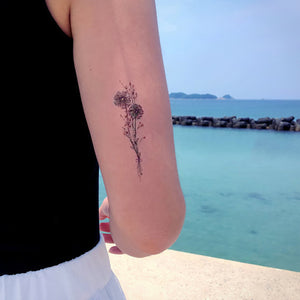 J16・Flower Dream Tattoos Set - LAZY DUO TATTOO