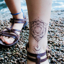 Load image into Gallery viewer, J20・Vector Circle Tattoos Set - LAZY DUO TATTOO