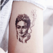 Load image into Gallery viewer, Frida Kahlo Tattoo - LAZY DUO TATTOO