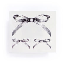 Load image into Gallery viewer, Dotwork Ribbon Bow Tattoo - LAZY DUO TATTOO