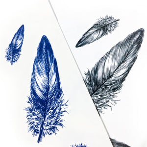 Feathers Tattoo - LAZY DUO TATTOO