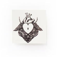 Load image into Gallery viewer, Rococo Spiky Heart Lock Tattoo - LAZY DUO TATTOO