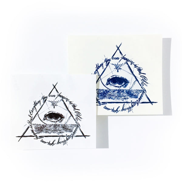 Alchemy Eye Tattoo Flash LAZY DUO Temporary Tattoo Sticker 香港紋身貼紙 刺青圖案 紋身師 印刷訂做客製 Custom Temporary Tattoo artist HK tattoo shop Hong Kong 迷你刺青 韓式刺青紋身 small tattoo design Minimal Tattoo little tattoo idea sketchy tattoo floral tattoo ankle wrist tattoo back tattoo Taiwan